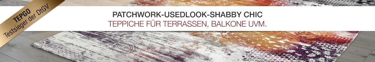 Patchwork / usedlook-Teppiche bei TEPGO kaufen
