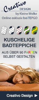 Creativo Design Badteppiche selbst gestalten
