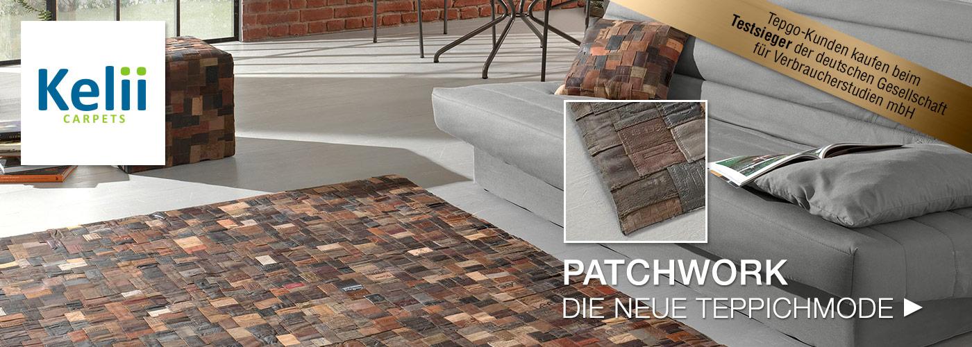 Kelii – Patchwork die neue Teppichmode
