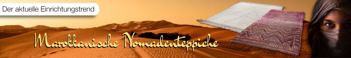 Marokkanische Nomadenteppiche